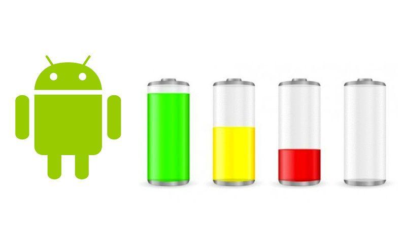 Батарея на Android